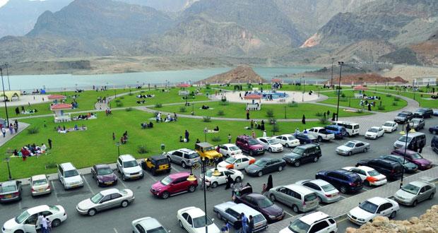 34 ألف زائر لسد وادي ضيقة بإجازة العيد الوطني