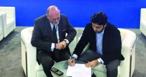 توقيع اتفاقية تشغيل أكاديمية عمان للطيران