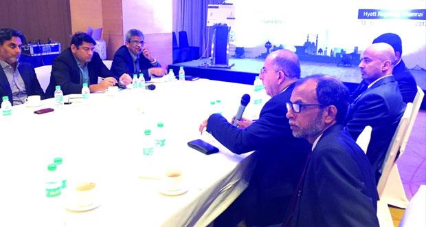 المؤسسة العامة للمناطق الصناعية تختتم حملتها التسويقية في الهند