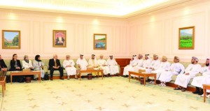 رئيس مجلس الدولة يستقبل المشاركين في الملتقى الإقليمي للبرلمانيين في مجال العلوم والدبلوماسية