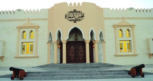 وزير الخدمة المدنية يرعى افتتاح مجلس أهالي المعلاة بقريات