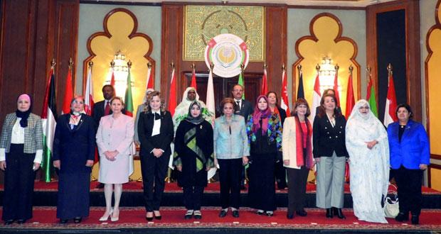 السلطنة تتسلم رئاسة المجلس الأعلى لمنظمة المرأة العربية من العراق