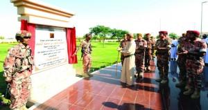 الجيش السلطاني العماني يحتفل بافتتاح معسكر هيماء التابع للواء حرس الحدود