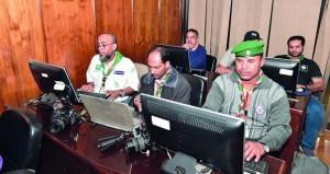 كشافة ومرشدات السلطنة يواصلون مشاركتهم بالدبلوما المتقدمة في الإعلام والإتصال بالقاهرة