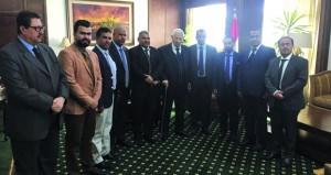 وفد من جمعية الصحفيين العمانية يزور عدداً من المؤسسات الاعلامية والصحفية المصرية