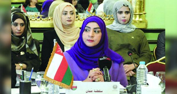 السلطنة تترأس اليوم اجتماع المجلس الأعلى لمنظمة المرأة العربية في دورته الحالية بالقاهرة