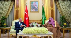 السعودية وتركيا تبحثان تعزيز العلاقات وقضايا المنطقة