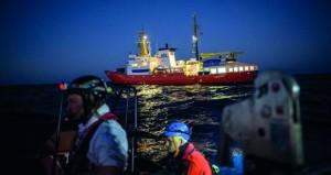 برلين تشيد بـ(صوفيا) قبالة السواحل الليبية