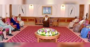 فهد بن محمود يستقبل أصدقاء عمان في البرلمان الاوروبي