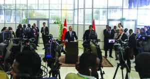 السودان وتركيا يوقعان اتفاقات للتعاون العسكري والأمني