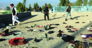 أفغانستان: إحباط هجوم انتحاري دموي ومقتل 15 في انفجار بجنازة