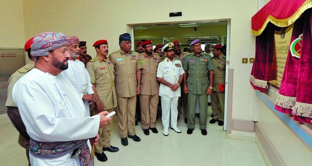 افتتاح مركز طب العيون وقسم الأذن والأنف والحنجرة بمستشفى القوات المسلحة