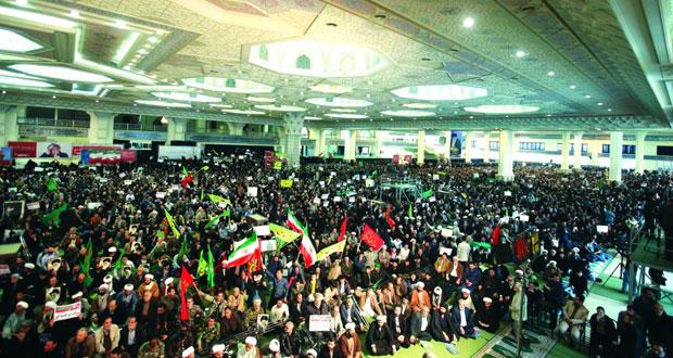 إيران : مسيرات مؤيدة للحكومة .. وتحذير من التجمعات (المخالفة للقانون)