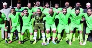 انطلاق البطولة الثالثة لوحدات ديوان البلاط السلطاني لكرة القدم