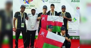 قصي الرواحي يحقق فضية 100 متر عدو بدورة الألعاب الآسيوية البارالمبية للشباب بدبي