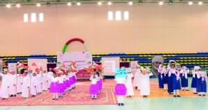 ختام فعاليات مهرجان الأولمبياد الخاص العماني بشمال الباطنة