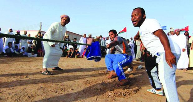 فعاليات رياضية واجتماعية يشهدها ملتقى أصيلة السادس بجعلان بني بوعلي
