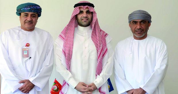 الوهيبي يستقبل المدير الإقليمي للفيفا