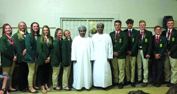 الفيروز يتلقى دعوة لحضور البطولة السنوية لالتقاط الأوتاد بجنوب أفريقيا