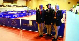 بطولة عمان فايبر أوبتك لكرة الطاولة تدخل مراحلها الحاسمة والإثارة عنوان مواجهات اليوم