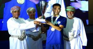 ختام بطولة عمان فايبر أوبتك الدولية لكرة الطاولة
