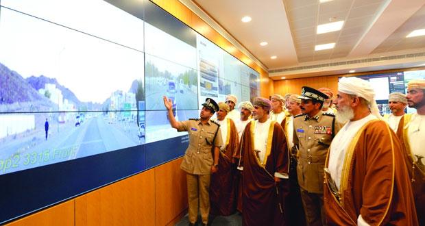 افتتاح قيادة شرطة شمال الشرقية