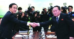 الكوريتان تطلقان أولى محادثاتهما الرفيعة واتفاق على إجراء محادثات عسكرية