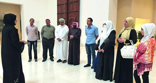 وفد من المملكة الأردنية الهاشمية يزور المتحف الوطني