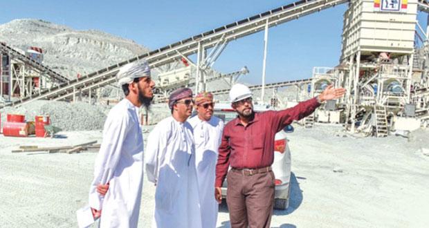 زيارة ميدانية للوقوف على مواقع لأنشطة الكسارات بجبل الشيخ
