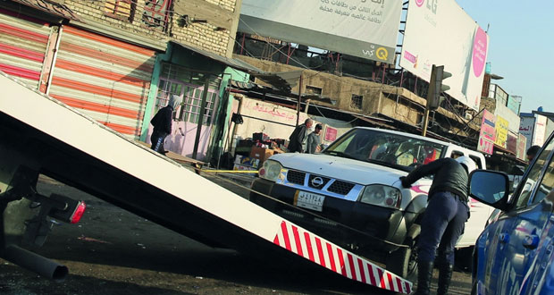 العراق: عشرات القتلى في هجوم انتحاري مزدوج وسط بغداد