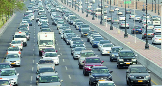 أكثر من 1.4 مليون إجمالي المركبات على طرق السلطنة بنهاية نوفمبر الماضي
