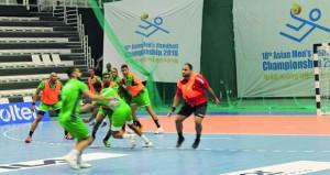 اليوم .. افتتاح منافسات البطولة الآسيوية الثامنة عشرة لكرة اليد بمدينة سيوون الكورية
