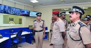 شرطة عمان السلطانية تحتفل بافتتاح مركز شرطة باريك بالوسطى