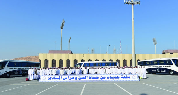 شرطة عمان السلطانية تستقبل دفعة جديدة من المواطنين كشرطة مستجدين
