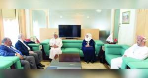 جلسة مباحثات بين التربية والتعليم والاتحاد العربي لرواد الكشافة والمرشدات
