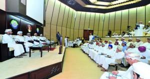 عمومية غرفة تجارة وصناعة عمان تعتمد اللوائح المالية للأعوام 2013 ـ 2016