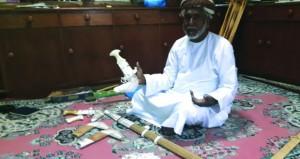 صناعة الخناجر حرفة عرفها العمانيون قديما