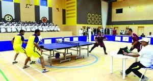 ختام بطولة شرطة عمان السلطانية لكرة الطاولة لعام 2018