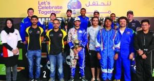 فريق نزوى بايكرز للدراجات النارية يواصل جولته الخليجية