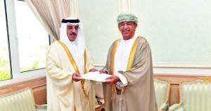 دعوة وزير الصحة لحضور معرض ومؤتمر الصحة العربي بدبي