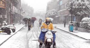 الصين تحذر من موجة ثلوج ثانية .. وعواصف ثلجية تلغي رحلات جوية في شرق كندا وتقطع الكهرباء بنيوزيلندا .. وأمطار وفيضانات في الكونغو
