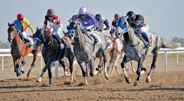انطلاق سلسلة سباقات الشيخة فاطمة بنت مبارك من مضمارالرحبة