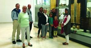 وفد ألماني يزور المتحف الوطني ويطّلع على العمق الحضاري العماني