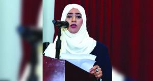 مشاركة عمانية في حفل تسليم جائزة السنوسي للشعر العربي بجازان