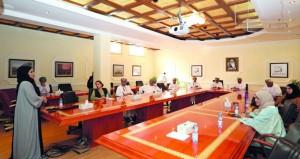 """""""البحث العلمي"""" ينظم حلقة تعريفية بالبرنامج الاستراتيجي للتراث الثقافي العماني لمؤسسات المجتمع المدني"""