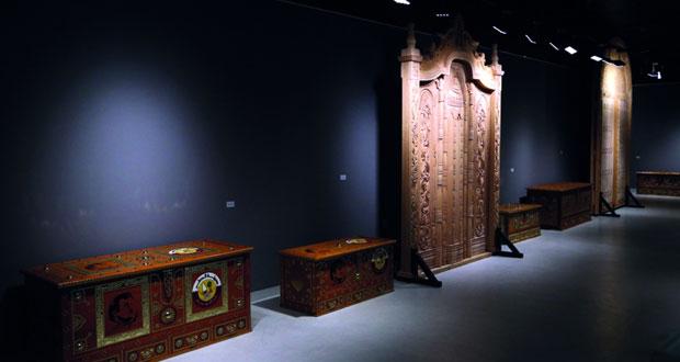 """بدء فعاليات معرض """"النحت على الخشب"""" لعبدالعزيز الكواري في الدوحة"""