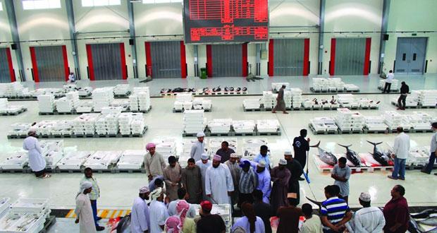 نحو 4 ملايين ريال عماني جملة المبيعات في سوق الجملة المركزي للأسماك العام الماضي