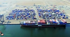 استمرار نمو ميناء صحار والمنطقة الحرة بصحار خلال عام 2017