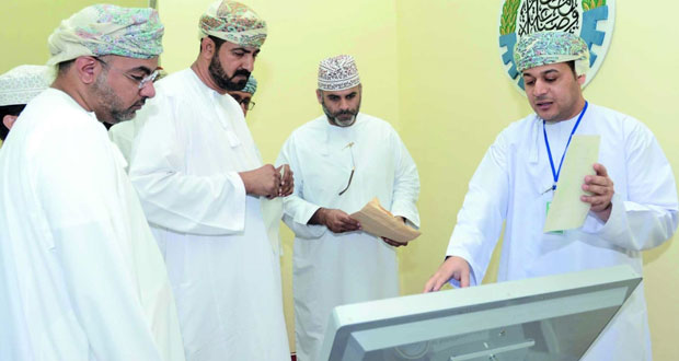 إقبال لاختيار المترشحين لرئاسة غرفة تجارة وصناعة عمان للفترة القادمة 2018 ـ 2022