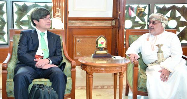 بحث التعاون بين السلطنة واليابان في مجال البحوث والدراسات العلمية